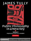 Public Philosophy in a New Key, Volume 2 (eBook)